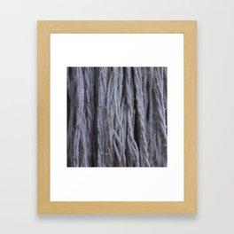 """Cascada de Algodón"" Framed Art Print"