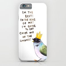 trash bird self affirmations iPhone 6 Slim Case