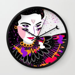 The dreams of Björk Wall Clock