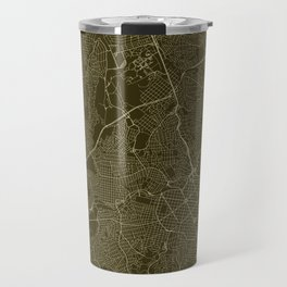 Belo Horizonte Streets Map Travel Mug