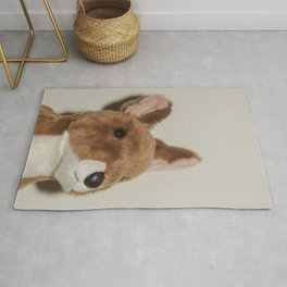 Cute kangaroo plush 0031 Rug