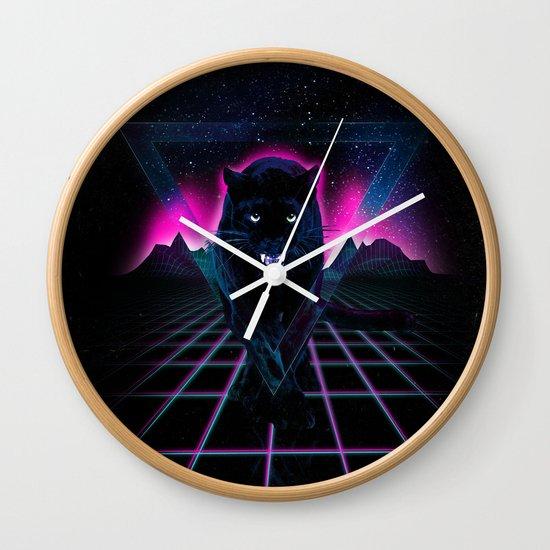 Jaguar Poster Wall Clock