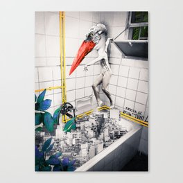 Don't Try This At Home #1. Canvas Print