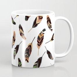 Feathers seamless pattern, vector illustration Coffee Mug