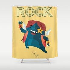:::Rock Monster::: Shower Curtain