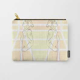 Yellow Thoughts Carry-All Pouch