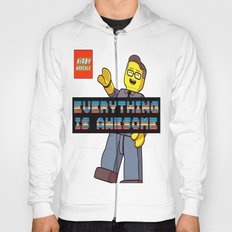 Kirby Krackle -Everything Is Awesome! (Lego style shirt) Hoody