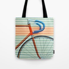 Standard Striped Bike Tote Bag