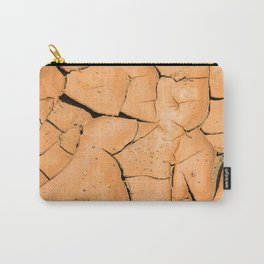 Cracked Terrain in Morocco Carry-All Pouch
