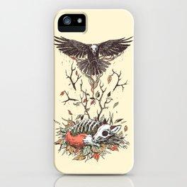 Eternal Sleep iPhone Case