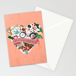 Life is a beautiful ride Stationery Cards