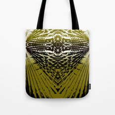 Shield of Gold Palms Tote Bag