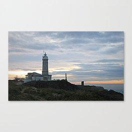 Santander Lighthouse by Shelia Kempf Canvas Print