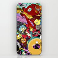 simpsons iPhone & iPod Skins featuring Simpsons Halloween Bonanza by Laura Von Burns