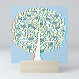 Aberration Tree Mini Art Print