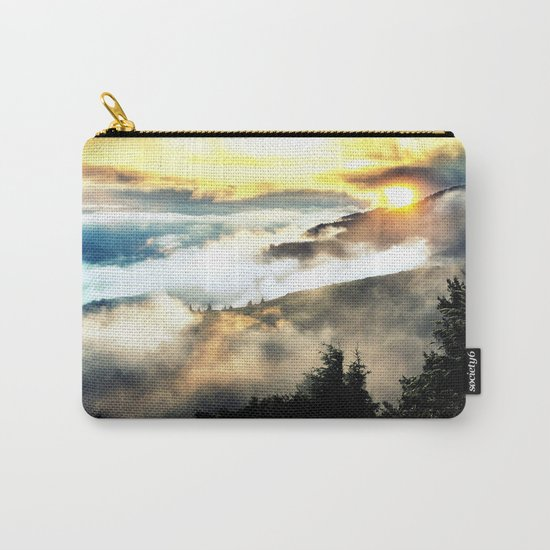 Sunrise mountains Carry-All Pouch