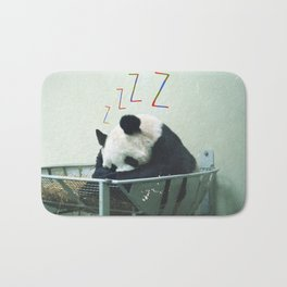 Sleepy Panda Bath Mat