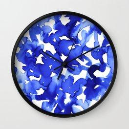 Energy Blue Wall Clock