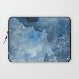 Night Tide Watercolor Laptop Sleeve