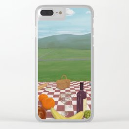 A Picnic in Yorkshire Clear iPhone Case