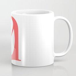 lowercase a Coffee Mug