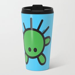 Green Monster Travel Mug