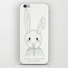 penny rabbit iPhone Skin