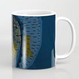 Tree Cactus in a Blue Desert Coffee Mug