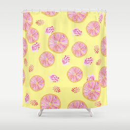 fruit infusion pattern Shower Curtain