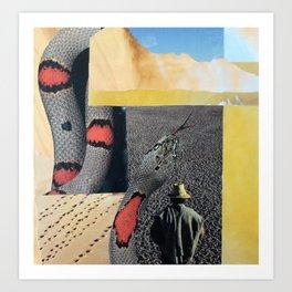 Desert Farmer Art Print