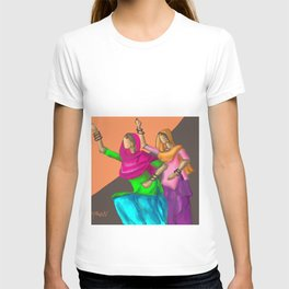 Punjabi girls Giddah T-shirt
