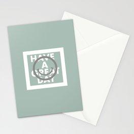 FACE+MESSAGE LOGO, SAGE Stationery Cards