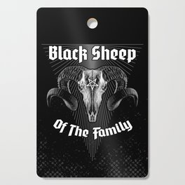Black Sheep Of The Family Cutting Board