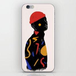 Red man iPhone Skin