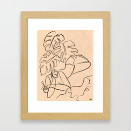 Summer Lines Framed Art Print