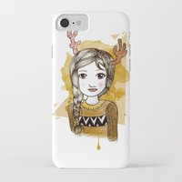 hippie iPhone & iPod Cases featuring Hippie by Janreh