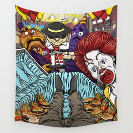 McFuneral Wall Tapestry