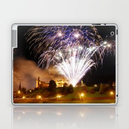 Castle Illuminations Inverness Scotland Laptop & iPad Skin