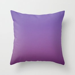 Gloaming Gradient II Throw Pillow