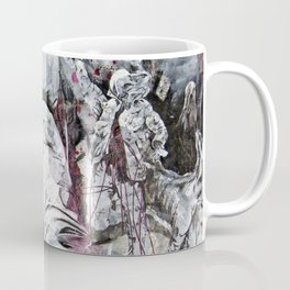 All my friends/Lost on the moon Coffee Mug