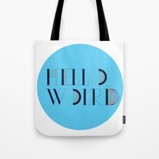 Hello World | Comp Sci Series Tote Bag