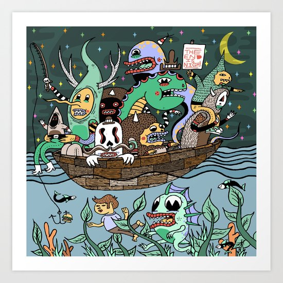 The End is Nigh! Art Print