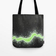 Agender Pride Flag Galaxy (Pixel Art) Tote Bag