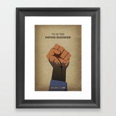 Breaking Bad - Buyout Framed Art Print