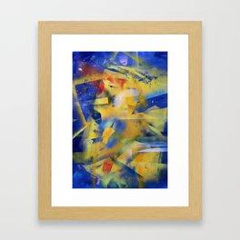 Kandiskiffiti Framed Art Print