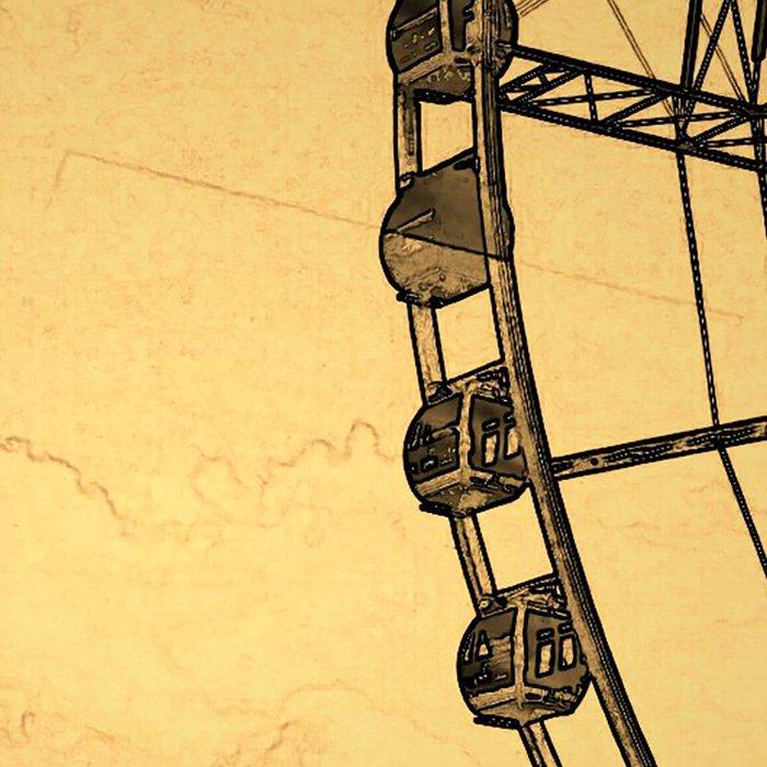 Ferris Wheel, Paris Leggings