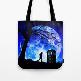 Tardis Night Tote Bag