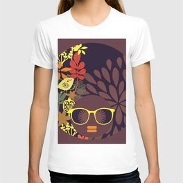 Afro Diva : Sophisticated Lady Deep T-shirt
