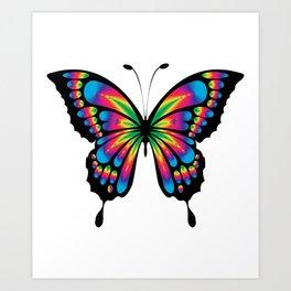 Butterfly Gift Art Print