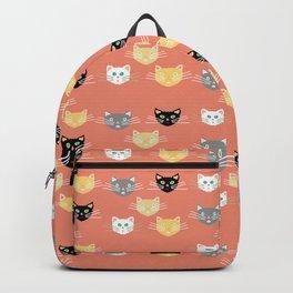 Kitties - Coral Backpack